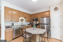 Large Kitchen and newly upgraded - 43017 EUSTIS ST, CHANTILLY