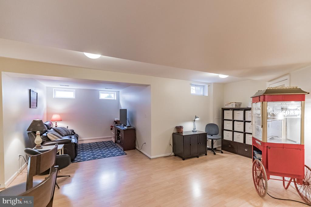 Spacious Basement with extra sitting area - 43017 EUSTIS ST, CHANTILLY