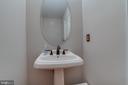 Powder Room - 13297 SCOTCH RUN CT, CENTREVILLE