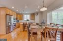 Breakfast Room with Nook - 13297 SCOTCH RUN CT, CENTREVILLE