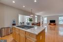 Recessed lighting, View to Family Room - 13297 SCOTCH RUN CT, CENTREVILLE