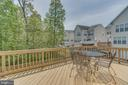 Deck, Perfect for Grilling and Dinner Al'fresco - 13297 SCOTCH RUN CT, CENTREVILLE