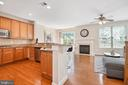 Open Concept living perfect for entertaining - 115 GRACIE PARK DR, HERNDON