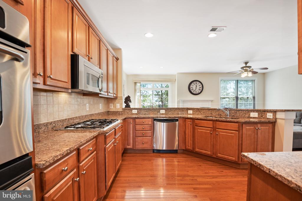 Kitchen features Stainless Steel Appliances - 115 GRACIE PARK DR, HERNDON