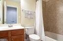 Full Bathroom on the lower level - 115 GRACIE PARK DR, HERNDON
