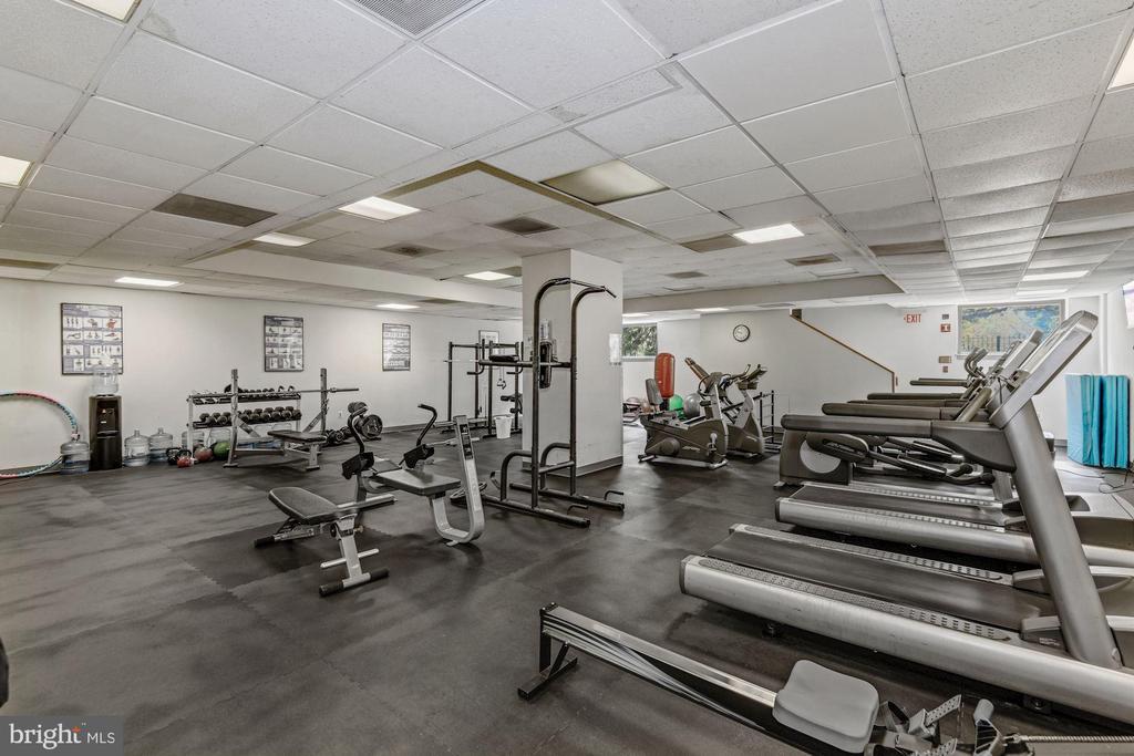 On-site Gym - 2111 WISCONSIN AVE NW #524, WASHINGTON