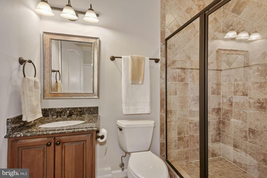 Lower level Full Bath - 3701 MAPLE HILL RD, FAIRFAX