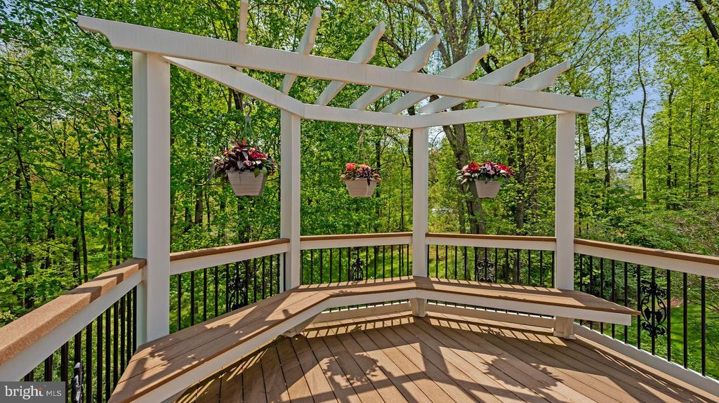 Backs to trees for privacy - 3701 MAPLE HILL RD, FAIRFAX