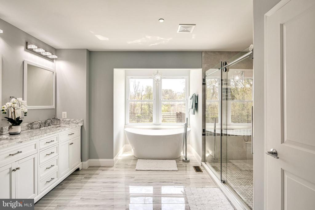 Master Bathroom - 16942 FREDERICK RD, MOUNT AIRY