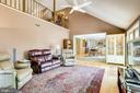 Upper level open to family room - 19 GRISWOLD CT, POTOMAC FALLS