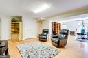 Multifunctional lower level with lots of storage - 19 GRISWOLD CT, POTOMAC FALLS