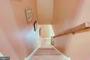 Hardwood stairs to both upper and lower levels - 19 GRISWOLD CT, POTOMAC FALLS