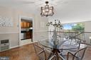Formal Dining Room overlooking Living Room - 1200 N NASH ST #240, ARLINGTON