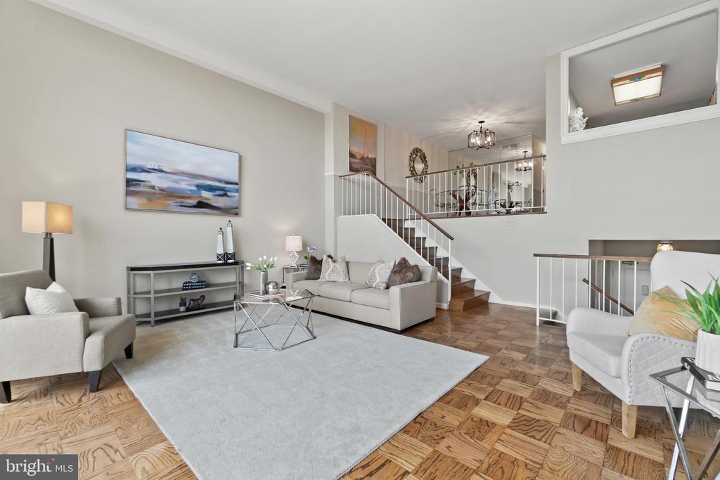 Light-filled, multi-level condo - 1200 N NASH ST #240, ARLINGTON