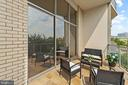 Sun-drenched Balcony - 1200 N NASH ST #240, ARLINGTON