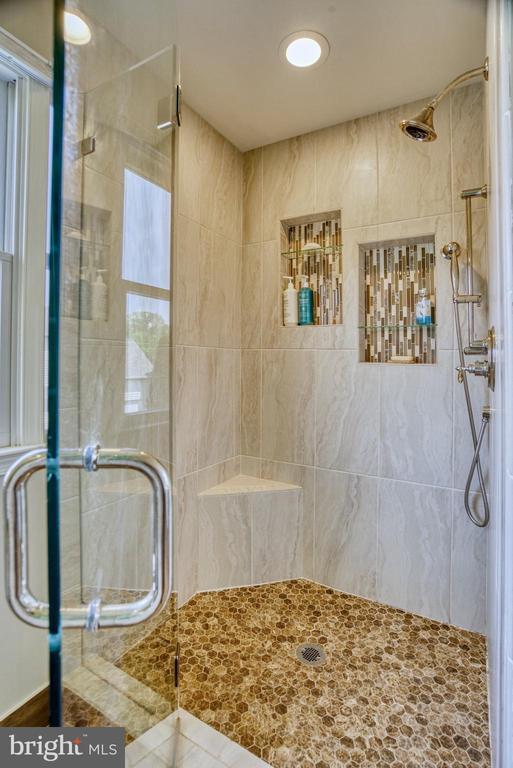Primary Bath Shower - 1269 COBBLE POND WAY, VIENNA