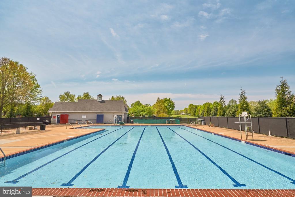 Community Pool - 1269 COBBLE POND WAY, VIENNA