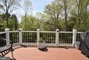View From Deck - 43341 CEDAR POND PL, CHANTILLY