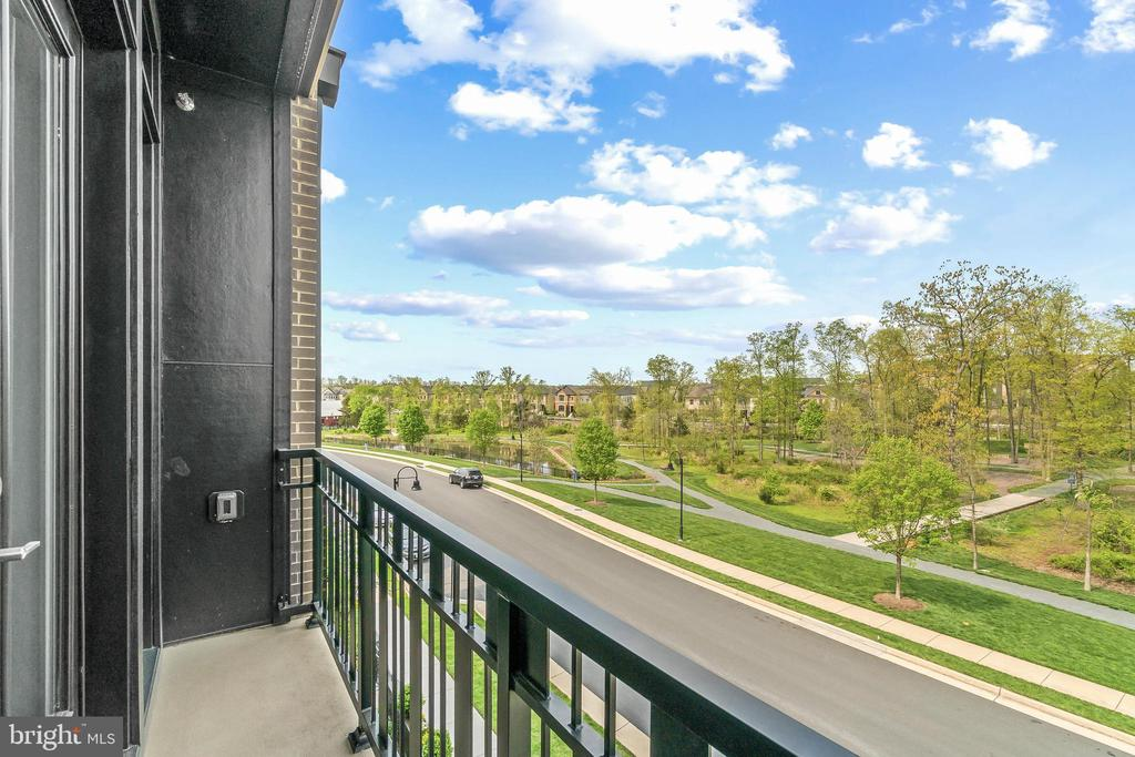 View from Juliet Balcony - 20382 NORTHPARK DR, ASHBURN