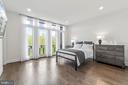 Master Bedroom w/access to Balcony - 20382 NORTHPARK DR, ASHBURN