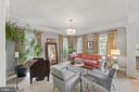 Living Room - 11618 CEDAR CHASE RD, HERNDON
