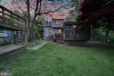 Back Yard at Sunset - 19315 LIBERTY MILL RD, GERMANTOWN