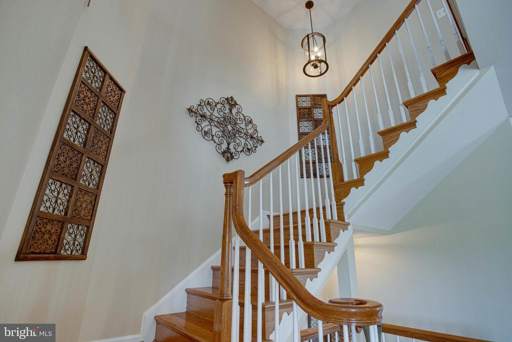 Let's head upstairs... - 42624 LEGACY PARK DR, BRAMBLETON
