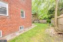 Fully fenced back yard - 3206 13TH RD S, ARLINGTON