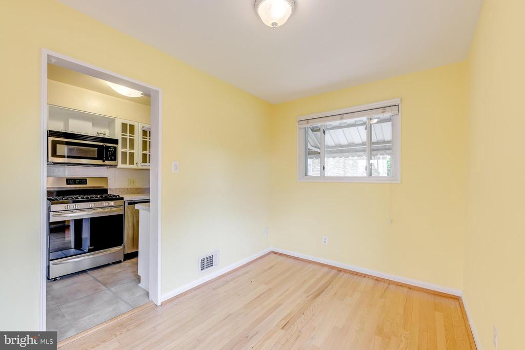 Separate Dining Room off Kitchen - 3206 13TH RD S, ARLINGTON