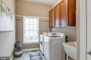 Large Main Level Laundry with Cabinet Storage - 47788 SAULTY DR, STERLING
