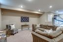 Large lower level Rec Room - 47788 SAULTY DR, STERLING