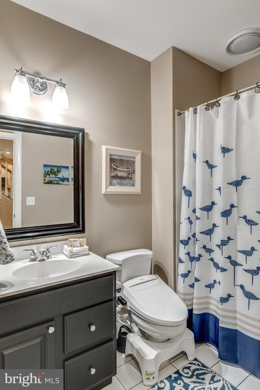 Lower level Full Bath - 47788 SAULTY DR, STERLING