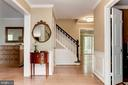 Foyer - 6305 BLACKBURN FORD DR, FAIRFAX STATION