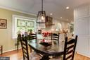 Breakfast Area in Kitchen - 6305 BLACKBURN FORD DR, FAIRFAX STATION