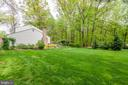 Huge Side Yard - 6305 BLACKBURN FORD DR, FAIRFAX STATION
