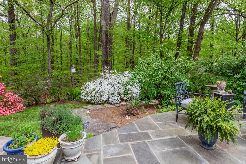 New Patio in Backyard - 6305 BLACKBURN FORD DR, FAIRFAX STATION