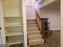 Stair to the Lower Level - 5832 CANVASBACK RD, BURKE