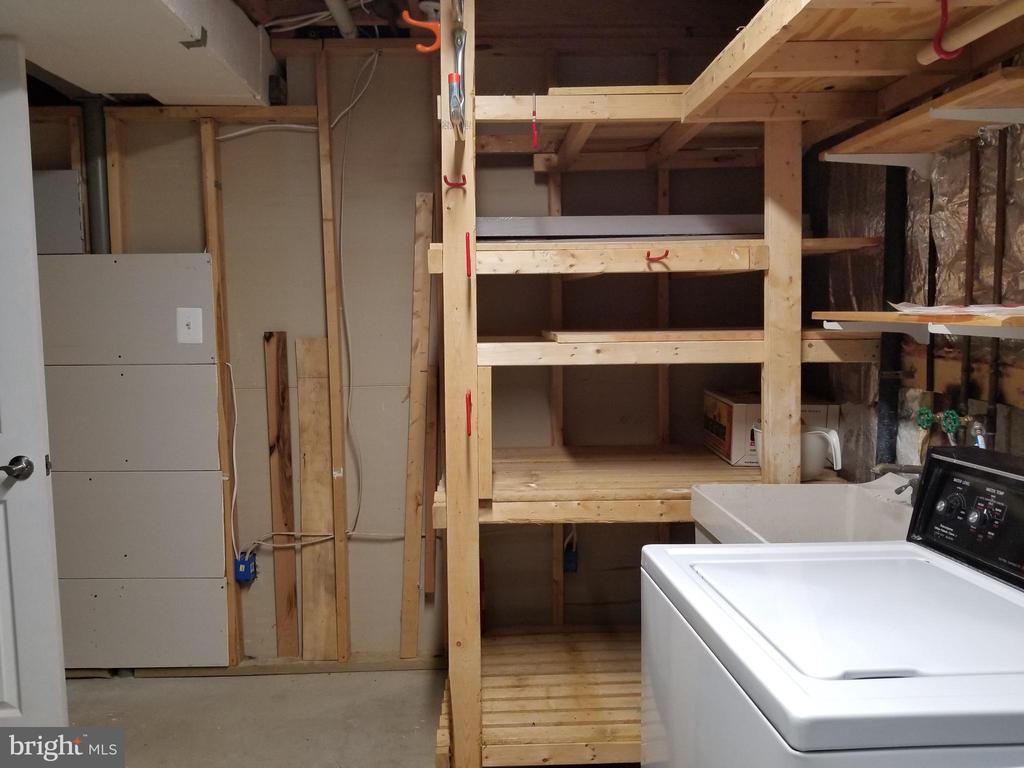 Lower Level Storage Room - 5832 CANVASBACK RD, BURKE