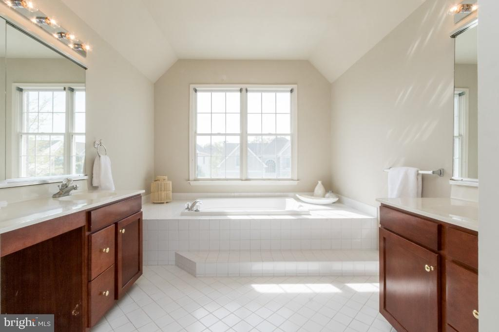Main Suite Bathroom - 25466 GIMBEL DR, CHANTILLY