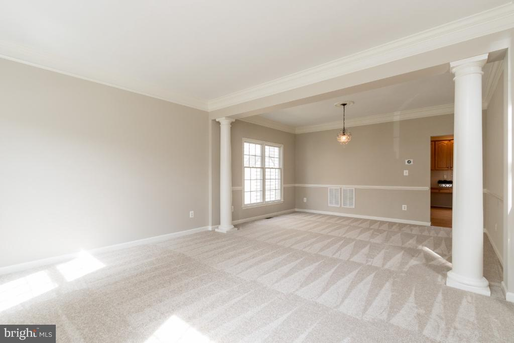 Living and Dining Room - 25466 GIMBEL DR, CHANTILLY