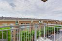 Balcony - 11990 MARKET ST #415, RESTON