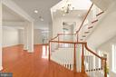 Beautiful open staircase. - 43575 WILD INDIGO TER, LEESBURG