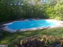 Inground pool without cover - 39 BETHANY WAY, FREDERICKSBURG