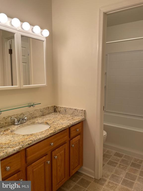 updated bathroom - 1006 BRINKER DR #102, HAGERSTOWN