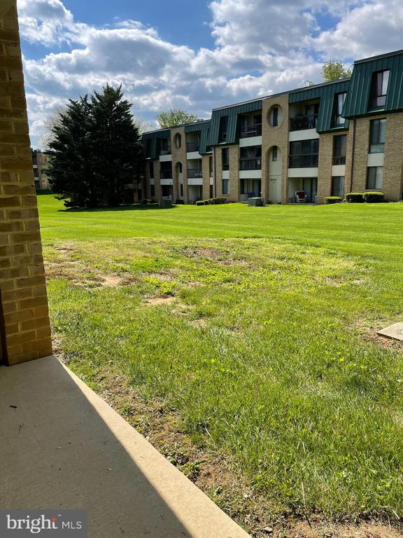 view from in the patio - 1006 BRINKER DR #102, HAGERSTOWN