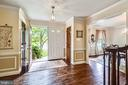 New double doors into the entry - 11949 GREY SQUIRREL LN, RESTON