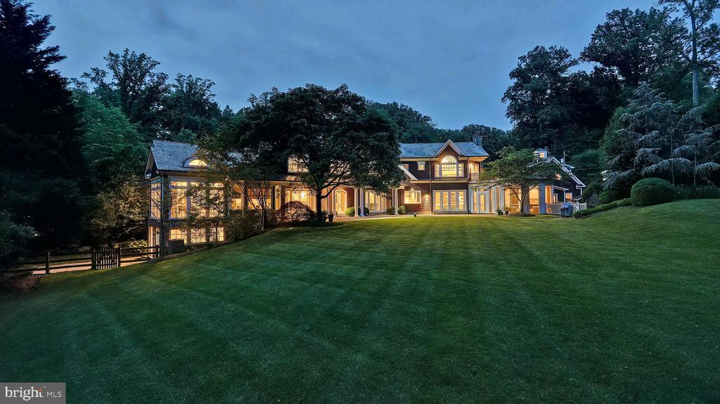 Exterior - Rear - 7301 DULANY DR, MCLEAN