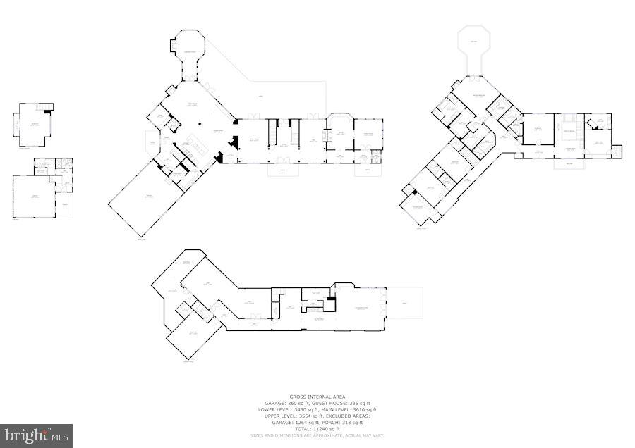 Floor Plan - 7301 DULANY DR, MCLEAN