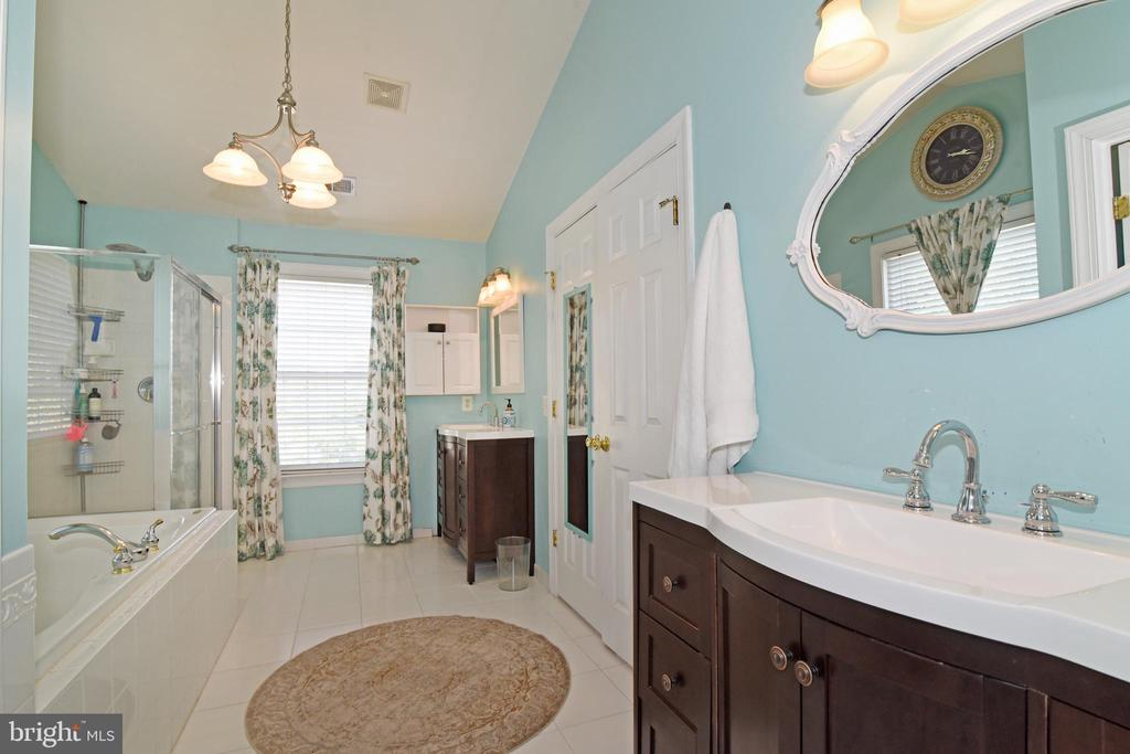 Dual seperate vanities - 43298 HEATHER LEIGH CT, ASHBURN