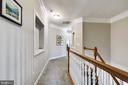Hallway with Niche Upper Level - 43690 MINK MEADOWS ST, CHANTILLY